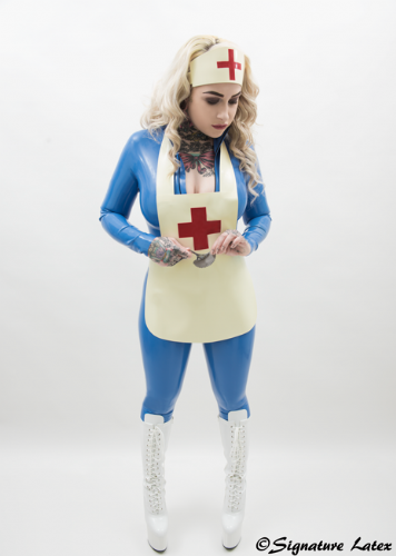 Latex Deluxe Medical Apron